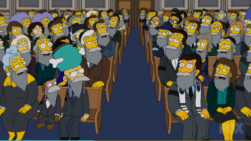 Suddenly, everyone in the shul was Jewish